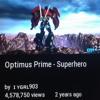 optimus prime-superhero