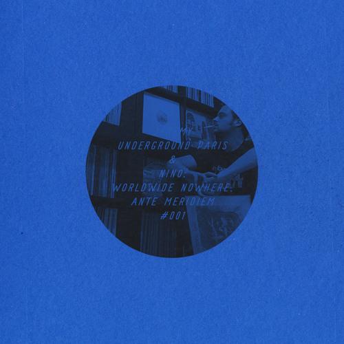 [AMS001] Jeremy Underground Paris & Nino - Worldwide Nowhere, Aug. 2009
