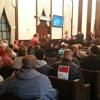 VCDL President Philip Van Cleave and EM Ed Levine speak in Alexandria
