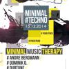 [Minimal-Techno] 13.12.2014 Dubtune - Minimal Therapy @ Halle Luja
