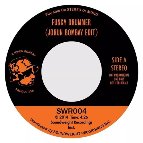 SWR004 Funky Drummer (Make Me Sweat) Jorun Bombay Edit (Snippet)