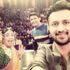 Atif Aslam sing lal shahbaz sufi at Comedynight with kapil