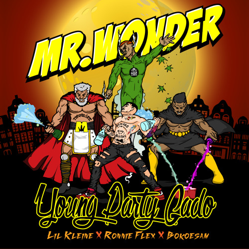 Young Party Gado (ft. Lil' Kleine, Ronnie Flex, Bokoesam & San Holo)