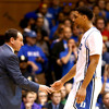 Blue Devil IMG (Bob Harris) Duke Basketball Report with Coach K 12-16-14