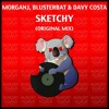MorganJ, Blusterbat & Davy Costa - Sketchy (Original Mix) #10 top 100 Beatport.com