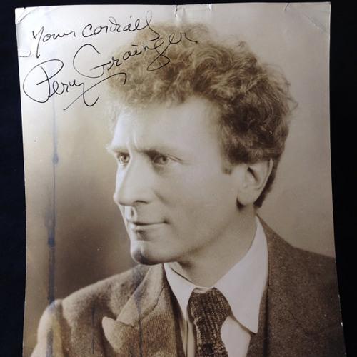 Dr, K.K. Nygaard On Percy Grainger 7 - 6-85 U Of Melbourne