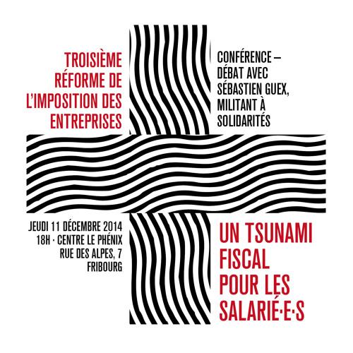 Sebastien Guex: Conférence sur la troisième réforme de l'imposition des entreprises