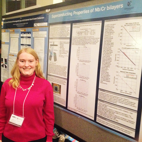 Researching Superconductivity with Dr. Broussard | Amy Davis '17 & Dr. Phillip Broussard