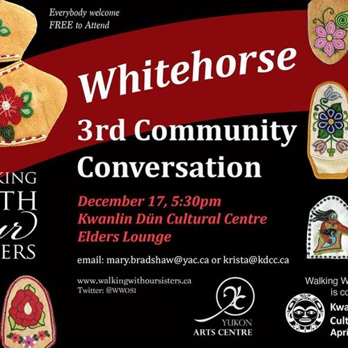 Walking with Our Sisters Community Conversation