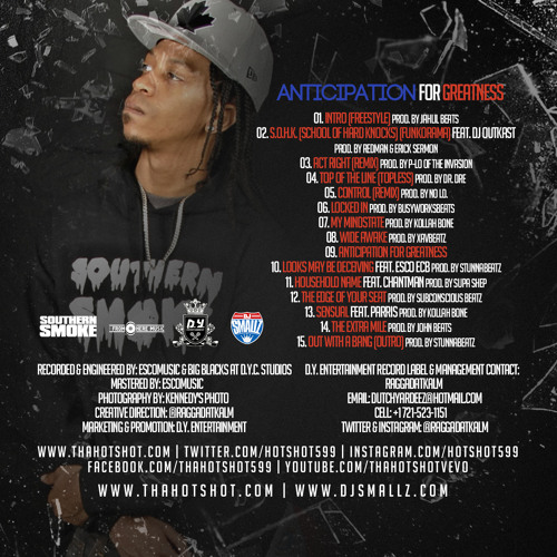 Anticipation For Greatness (Hosted By Dj Smallz)
