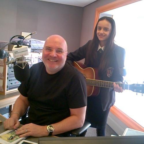 Me Live on The BBC Burnsy Show Radio Humberside