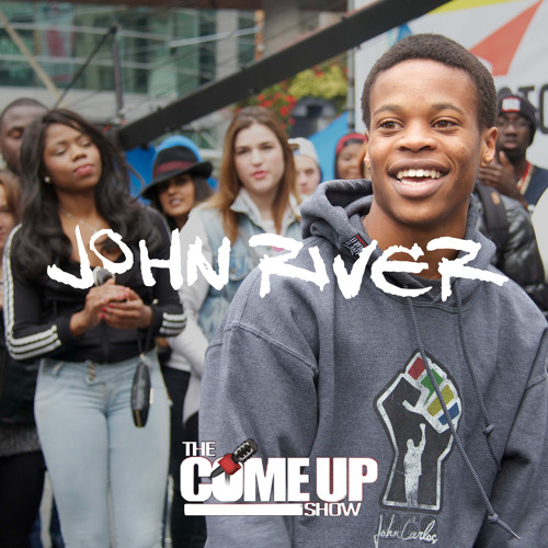 John River talks believing in a greater purpose, #BlackLivesMatter, and the fear of failure