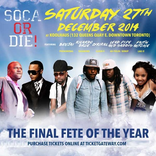 Soca Or Die X-Mas 2014 (Promo Mix)
