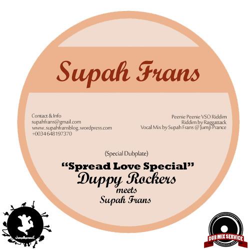 Supah Frans meets Alberto Geneoves (Duppy Rockers) - Peenie Peenie Vso