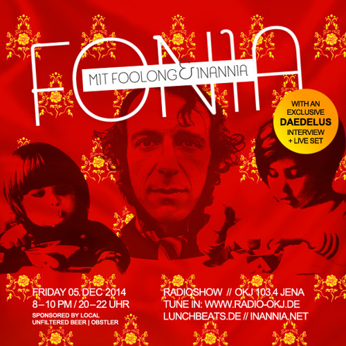 Fonia Radio Show - Session 28 (Guest: Daedelus)