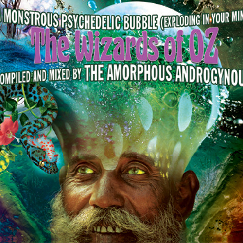 A MONSTROUS PSYCHEDELIC BUBBLE - The Wizards Of Oz compiled and mixed by the Amorphous Androgynous
