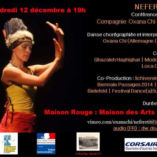 Oxana Chi invitée radio de Martinique 1ère