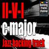 Backing track jazz 2-5-1