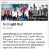 Where Did You Go? - Midnight Red Cover