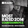 Defected In The House Radio - Most Rated Countdown Pt 3 - 22.12.14 - Guest Mix Simon Dunmore