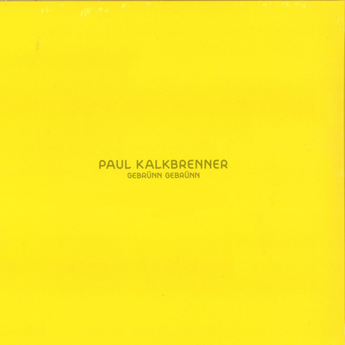 Paul Kalkbrenner - Gebrunn Gebrunn (Original Mix)