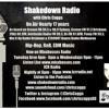Shakedown Radio - August 2013 - Hip-Hop, RnB and Dance By Chris Caggs