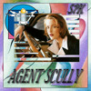 AGENT SCULLY(THE X FILES) RELEASED