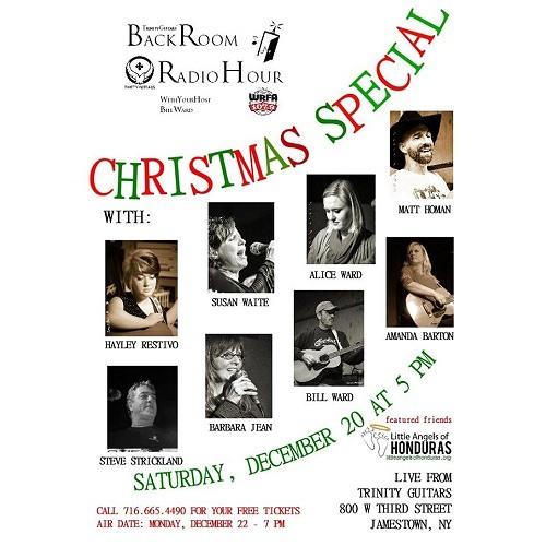 Back Room Radio Hour 2014 Christmas Special