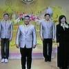 Ständchen für den König im TV at Bangkok