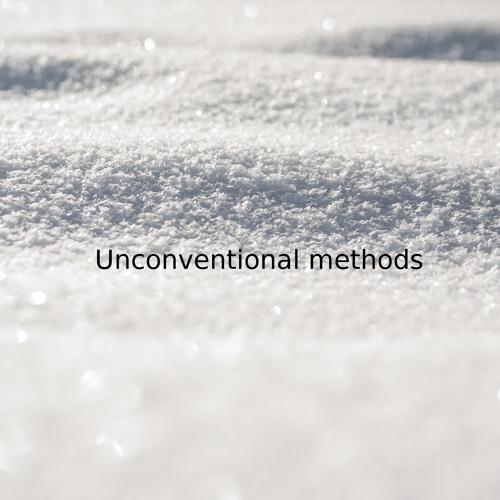 Unconventional Methods