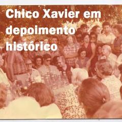 CHICO XAVIER comenta sobre reencarnações. Gravado em 1977 ao pé do abacateiro
