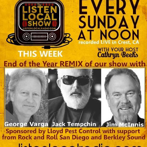 The Listen Local Show 12 28 14 REMIX WITH JIM, JACK & GEORGE