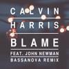 Calvin Harris Ft. John Newman - Blame (Bassanova Remix)(Hardwell On Air #184)(Martin Garrix BBC)