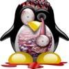 Penguin Zombie Music Queen