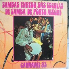 Carnaval, Alegria do Povo ESTADO MAIOR DA RESTINGA 1983