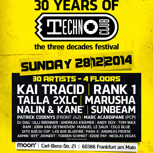 03 Kai Tracid Live @ Techno Clubs 30 Years Special @ Techno