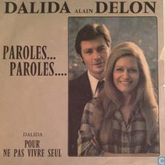 Dalida et Alain Delon - Paroles... Paroles... (Vocal Cover)