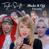 Taylor Swift - Shake It Off | Parody Portada del disco