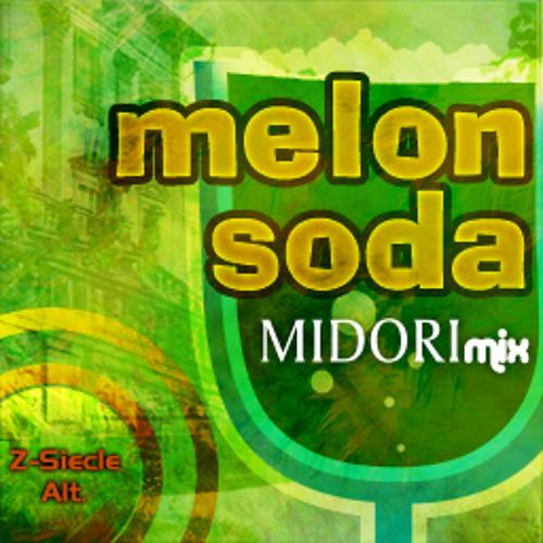melon soda (MIDORImix)