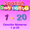 Canción Números 1 al 20 (Numbers 1-20 Song)