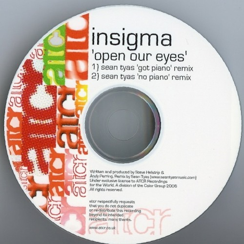 Insigma - Open your Eyes (Sean Tyas rework)