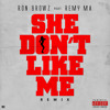 Ron Browz Feat Remy Ma -She Don't Like Me Remix Dirty (Official)