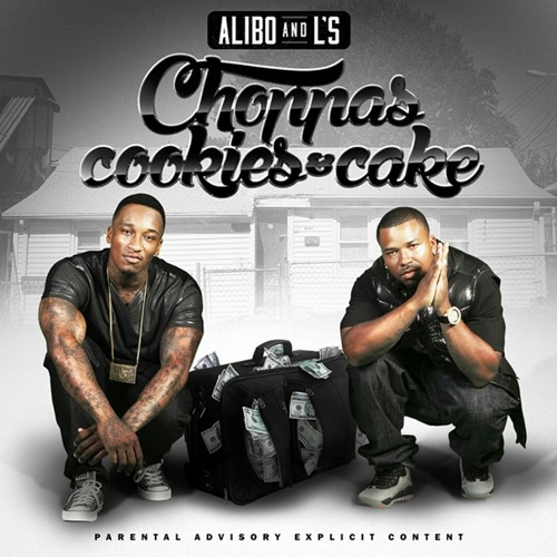 Choppas cookies cake part1   ALIBO + Ls