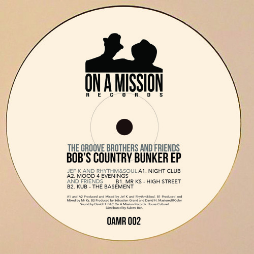 ON A MISSION RECORDS 02 - BOB'S COUNTRY BUNKER EP