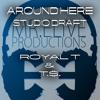 Around Here Studio Draft Royal T & T.$.