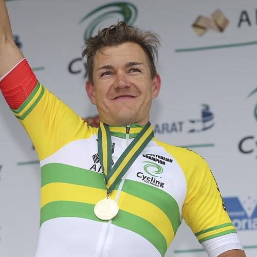Australian Road Nationals: Elite men's gold medallist Heinrich Haussler