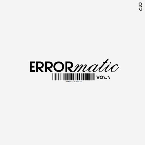 ERR017: Various Artists - Errormatic Vol.1