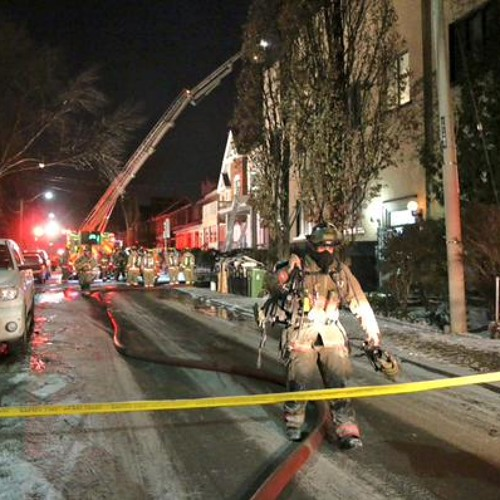 Explosion Rocks Downtown Neighbourhood - Marham St