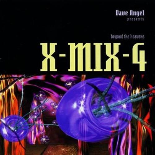 X-Mix 4  Dave Angel - Beyond the Heavens  1995