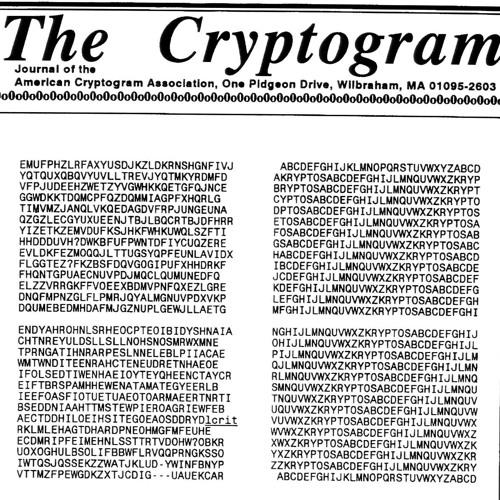 Cryptogram (2011) for wind ensemble